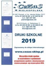 Druki 2019